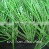 Hot sale 50mm double spine monofilament yarn outdoor infill synthetic grass for football field