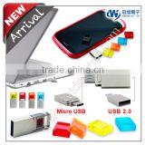 new products 2014 , OTG usb flash drive for smartphone & computer , bulk 1gb~32gb usb flash drives