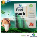 factory supply new korea detox foot patch with CE