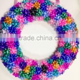 2016 New Products Solid Colours Christmas Wreath &Xmas Swag Garland for Christmas Day Ornament