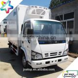 4.3m reefer truck body 6.6T refrigerated trucks light duty refrigerator box truck                                                                         Quality Choice