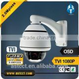 new product sony cmos ptz dome camera 10X optical zoom mini color ptz camera 1080P HD TVI High Speed Dome Camera