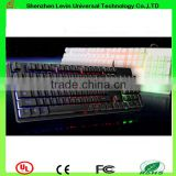Factory Professional Wired RGB Colrful Backlit Gaming Keyboard