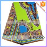 Mitaloo DSK001 New Stock Dashiki Holland Wax Fabric with Wholesale Price