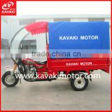 Made In China New Design Double Usage 3 Wheel Engine Motor Tricycle For Cargo Passenger Transport