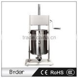 12L 304 Stainless Steel Vertical Manual Sausage Filling Making Machine Stuffer with Hands