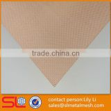 high quality red copper wire mesh phosphor bronze mesh