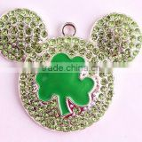 AAA Quality Alloy Rhinestone cartoon crystal jewelry pendants for kids necklaces making !