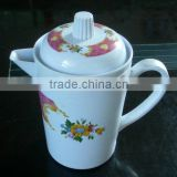 One handle melamine tea pot plastic ware