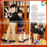 2016 newest boy girl suits Japen style long sleeves elegan autumn sweater school uniforms set knitting cardigan kids clothing