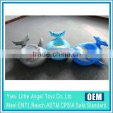 EN71 6P PVC Three Color Assorted Inflatable baby seat boat float inflatable shark seat