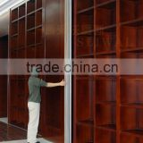 china manufacturer aluminium movable wall board for wall movable partition used in liabrary