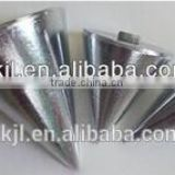 cast iron conical type steel plumb bob for building construction