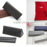 Custom PU leather fancy personalized Folding Reading Glasses Case from China factory                                                                         Quality Choice