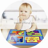 High quality colorful printing LDPE baby mat stick on table for meal