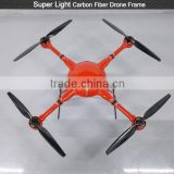 OEM Industry grade carbon fiber quadcopter drone frame for skyline rc drone fpv quadcopter with drone sprayer