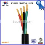 PVC Insulated flexible round wire H05VV-F