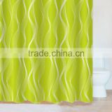 China Supplier Houseware OEM Customed printed Shower curtains