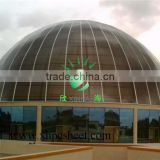 High Quality ISO Certification Bayer Makrolon UV Canopy Roof commercial glasshouseHollow Polycarbonate sheet dome greenhouse