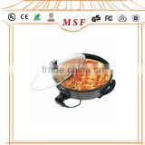 round cast iron electric aluminum pizza pan                                                                         Quality Choice