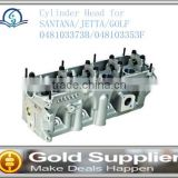 Brand New cylinder head for SANTANA/JETTA/GOLF 048103373B/048103353F with high quality and most competitive price.