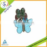 Wholesale zinc alloy charms for jewelry metal Pendant for necklaces in butterfly shape