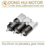 6mm dc planetary gear motor for door opener, plastic gear motor for door lock