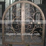 Decrative safety arch wrought iron window                                                                         Quality Choice