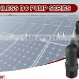 High temperature resistant solar water pump (CE, UL, ROHS, VDE, FC, CCC low power consumption, safe and low noise)