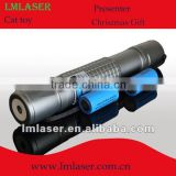 445nm blue laser pointer 1w waterproof with 5 laser caps