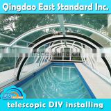 large span above ground pool leaf cover