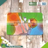 Hot selling eco-friendly kitchen advertising colorful promoting custom printed silicone placemats                                                                         Quality Choice