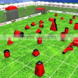 inflatable paintball field, inflatable paintball air field, inflatable paintball bunker field