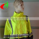 polyester taffeta fabric for raincoat reflective material for reflective safety clothing