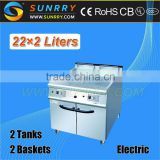 Commercial gas fryer with cabinet 44 liters henny penny pressure chicken fryer (SY-GF900A SUNRRY)                                                                         Quality Choice