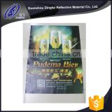 China manufacturer reflective PVC printable banner / reflex sticker for outdoor advertising