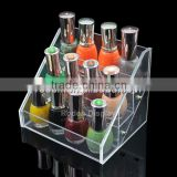 Fashionable And Cheap Price Acrylic Cosmetic Product Display Stands
