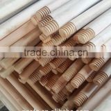 wooden broom sticks with pvc coated,wood stick broom with pvc cover wood dark color,wooden pvc covered broom stick