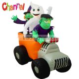Halloween Inflatable monster truck inflatable holiday living outdoor decorations