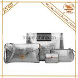 2016 Highly Recommended Valentine Gift Pretty Lady's Clutch Bags Set Woman Handbag                                                                         Quality Choice