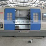 CNC350A cnc combination lathe milling machine /double spindle cnc with driven tools