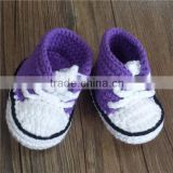 knitted baby slipper socks
