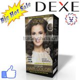 Dexe hair dye yound hair cream with 12 colors