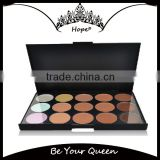 15 Color Hot Sale Face Multi-color Cream Concealer Palette