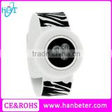 Slap snap on Silicon rubber sports boy girl's wholesale minions epoch ladies quartz watch