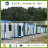Germany prefabricated flat package container camp house made in china