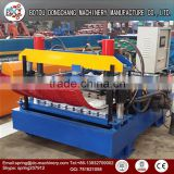 Dongchang arch roof forming machine,roof panel curving machine,steel arch building machine