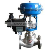 steam valve with pneumatic actuator, pneumatic steam control valve, pneumatic diaphragm control valve