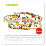 Funny baby favorite wooden train,Educational combinations train,Wood geometry vehicle