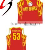 Sublimation basketball shirt
